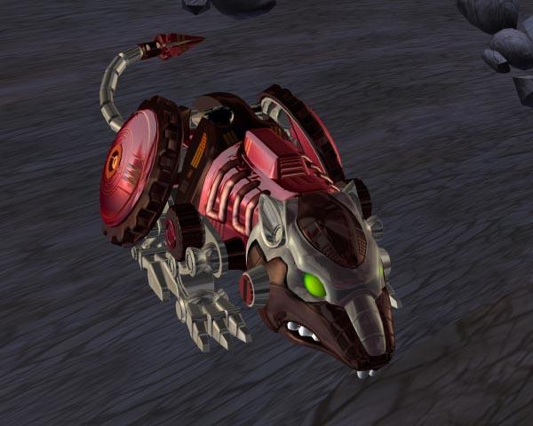 Beast Wars et Beast Machines: Galerie d'Images des Personnages Rtbeastie