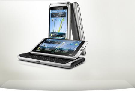 نوكيا nokia e7 Nokia_e7-silver_white-450x305