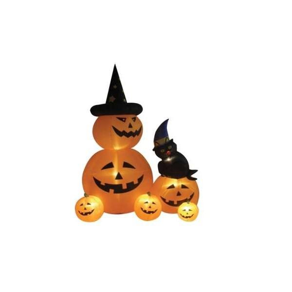 ***** Cerrado*****Maratón el EMPUJÓN Del 22 al 29 de OCTUBRE 8-foot-animated-halloween-inflatable-pumpkins-cat