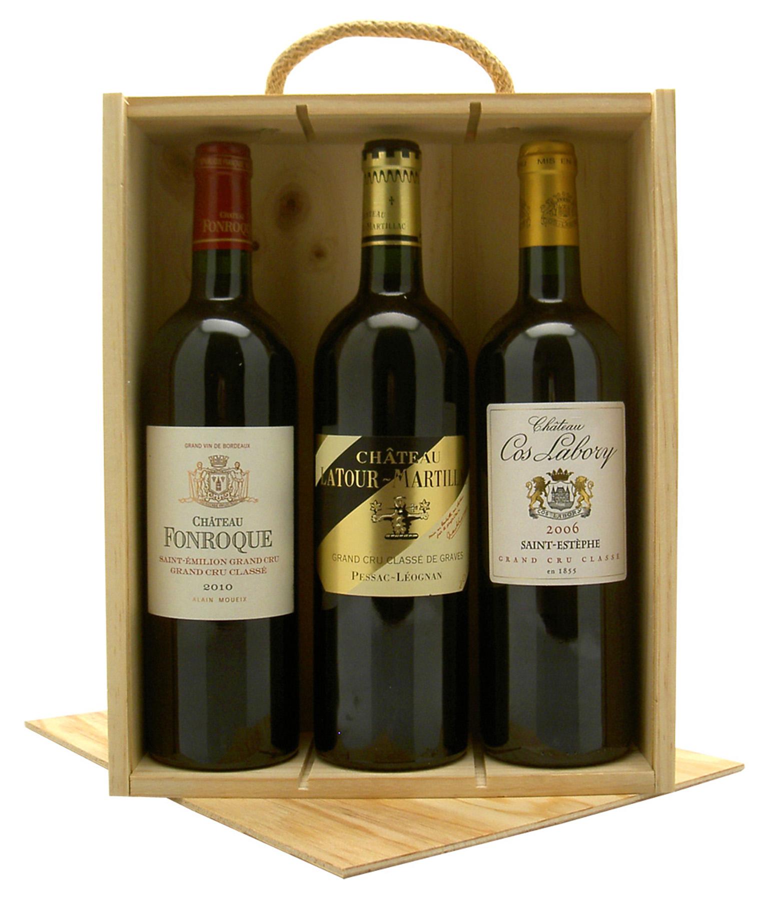 Noël 2017 ! Cadeau-vin-3-bouteilles-grands-cru-classes