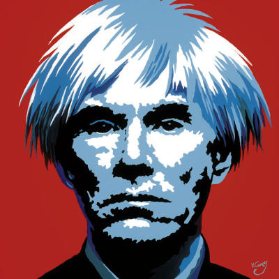 Andy Warhol  e la Pop Art Andy-warhol-self-portrait