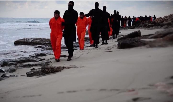 الوقائع الكاملة لأستشهاد 21قبطيا فى ليبيا على يد داعش 15/2/2015 Copts