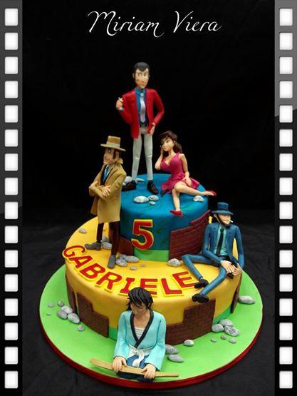 Joyeux anniversaire Veggie ! Lupin_III_cake