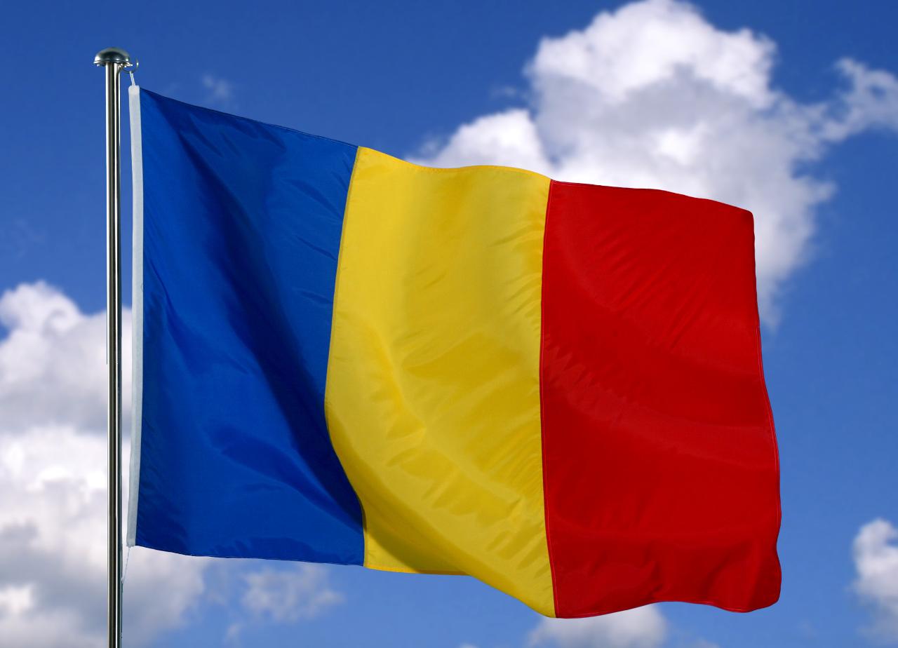 La mulți ani românilor! Romanian-flag