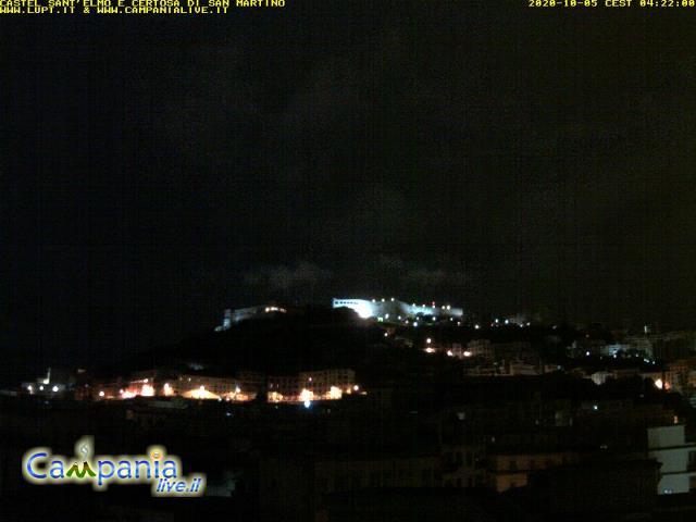 Webcam Napoli Castel Sant'Elmo  Napolisantelmo