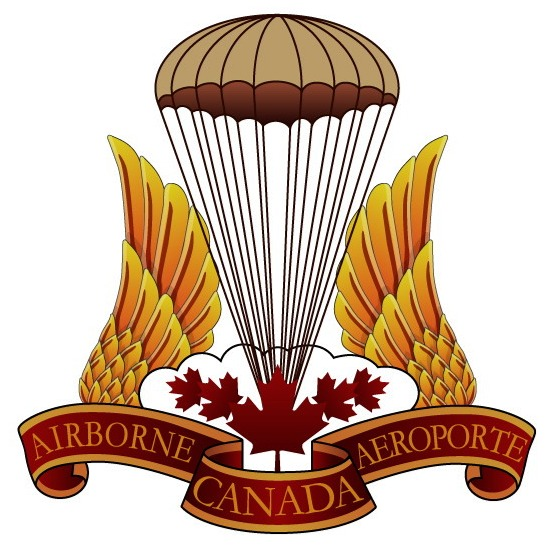 Canadian Para wings and patches help required. Airborne_logo