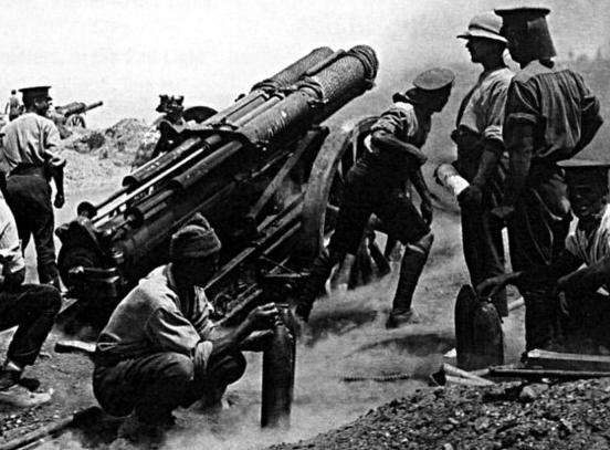 Lufta e Parë Botërore 60pounder