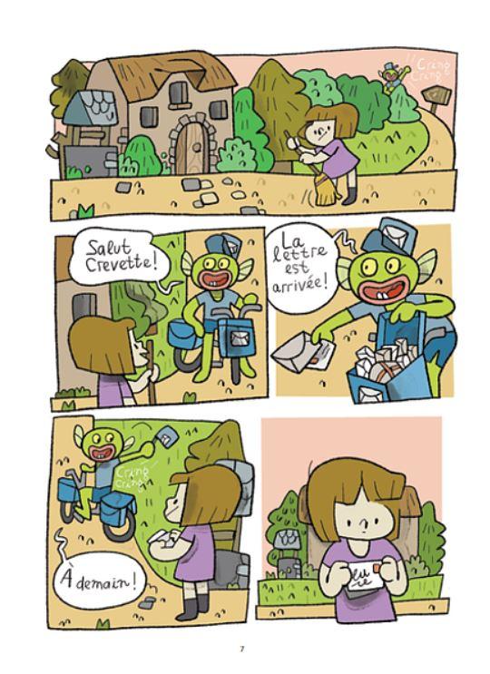 Crevette, la bande dessinée jeunesse d'Elodie Shanta 9782897770402_pg