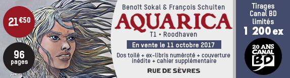 Nouveautés BD & COMICS 2017.48 du 27 novembre au 3 décembre 2017   Bando-aquarica-574x155