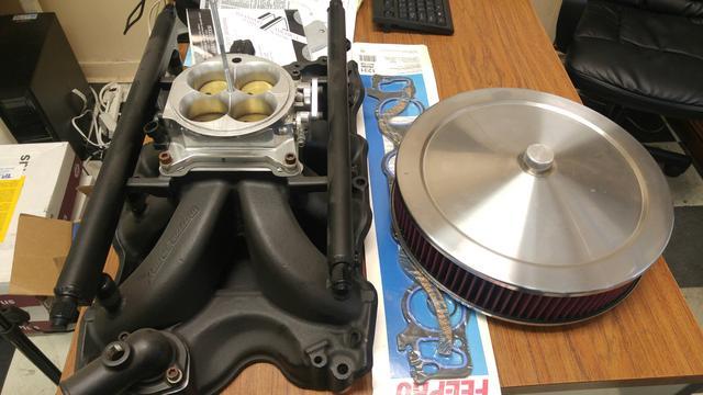 BBF 460 EFI Intake, Injectors, Throttle Body, Bellhousing 20160713_132934_resized
