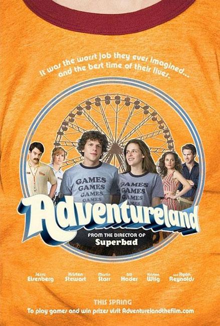 [Miramax] Adventureland - Job d'Été à Éviter (2009) Adventurelandposter1