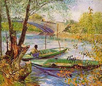 Vinsent van Gogh Fishing%20in%20the%20Spring%20Pont%20de%20Clichy%20Vincent%20van%20Gogh