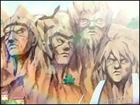 Le mont au Kage Statues%20kage