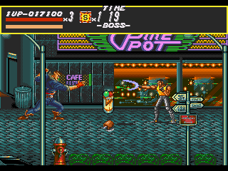 [GAME] Streets of Rage Round1_boss