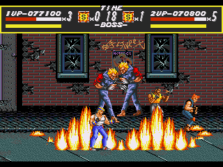[GAME] Streets of Rage Round2_boss