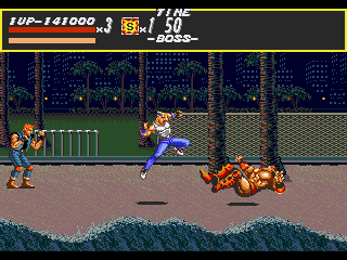 [GAME] Streets of Rage Round3_boss