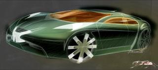 [Présentation] Le design par Peugeot Peugeot-908-RC-Design-Sketch-3