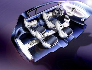 [Présentation] Le design par Renault Renault-Twingo-Concept-interior-sketch-2