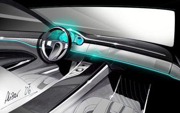 [Présentation] Le design par Jaguar Jaguar-C-XF-Concept-Interior-Sketch-1