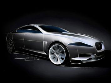 [Présentation] Le design par Jaguar _Jaguar-C-XF-Concept-Sketch-1