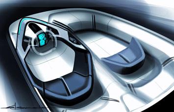 [Présentation] Le design par Toyota Toyota-FT_HS-Concept-Interior-Sketch-1