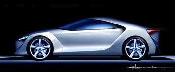[Présentation] Le design par Toyota Toyota-FT_HS-Concept-Sketch-2