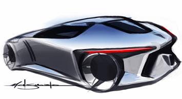 [Présentation] Le design par Toyota Toyota-FT_HS-Concept-Sketch-3