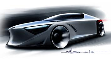 [Présentation] Le design par Toyota Toyota-FT_HS-Concept-Sketch-4