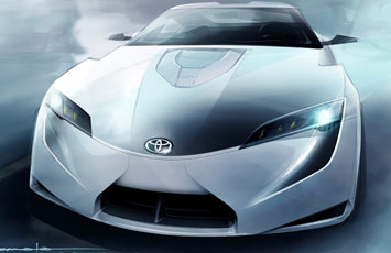 [Présentation] Le design par Toyota Toyota-FT_HS-Concept-Sketch-5