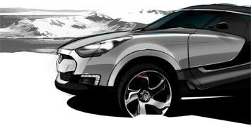 [Présentation] Le design par Hyundai Hyundai-Crossover-SUV-concept-sketch-2