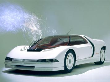 Oeuvres D'arts Motorisees _1984-Peugeot-Quasar-Concept-1