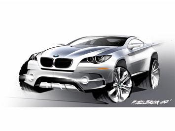 [Présentation] Le design par BMW BMW-Concept-X6-ActiveHybrid-sketch-2