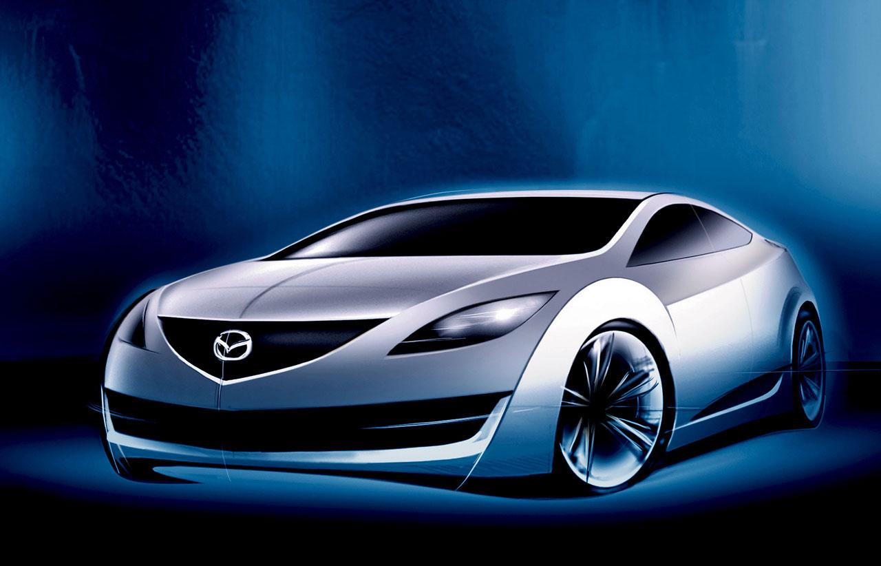 [Présentation] Le design par Mazda - Page 2 Mazda-6-Design-Sketch-2-lg