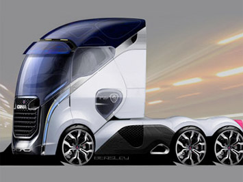 [Inclassable] Le topic des camions _Scania-design-sketch
