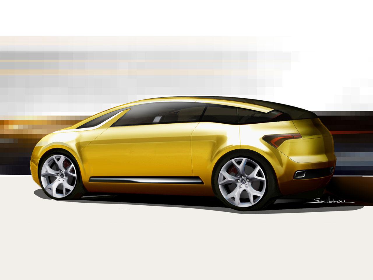 [Présentation] Le design par Citroën - Page 15 Citroen-C-SportLounge-Concept-Design-Sketch-1