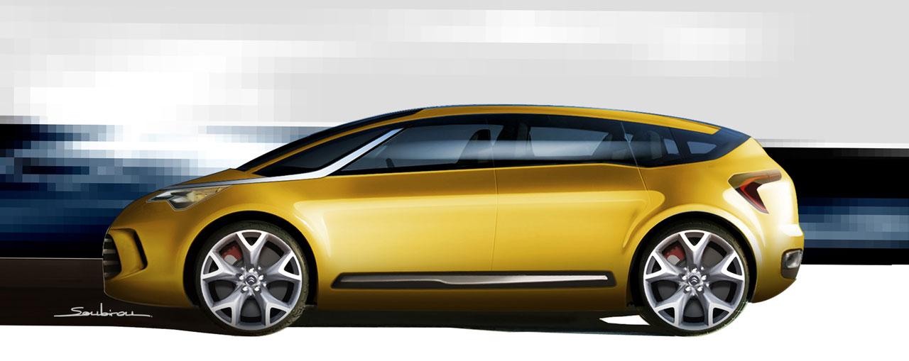 [Présentation] Le design par Citroën - Page 15 Citroen-C-SportLounge-Concept-Design-Sketch-3