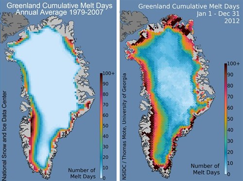 Five reasons why the speed of Arctic sea ice loss matters Compare_500x373