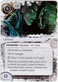 [Android: Netrunner] Deck - Kate Solid Ffg_crypsis-core
