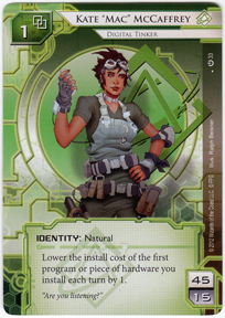 [Android: Netrunner] Deck - Kate Solid Ffg_kate-mac-mccaffrey-core