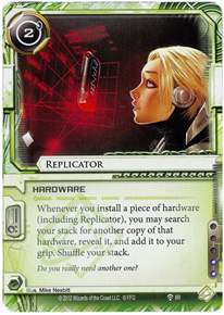 [Android: Netrunner] Deck - Kate Solid Ffg_replicator-humanitys-shadow