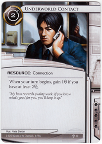 [Android: Netrunner] Deck - Kate Solid Ffg_underworld-contact-a-study-in-static