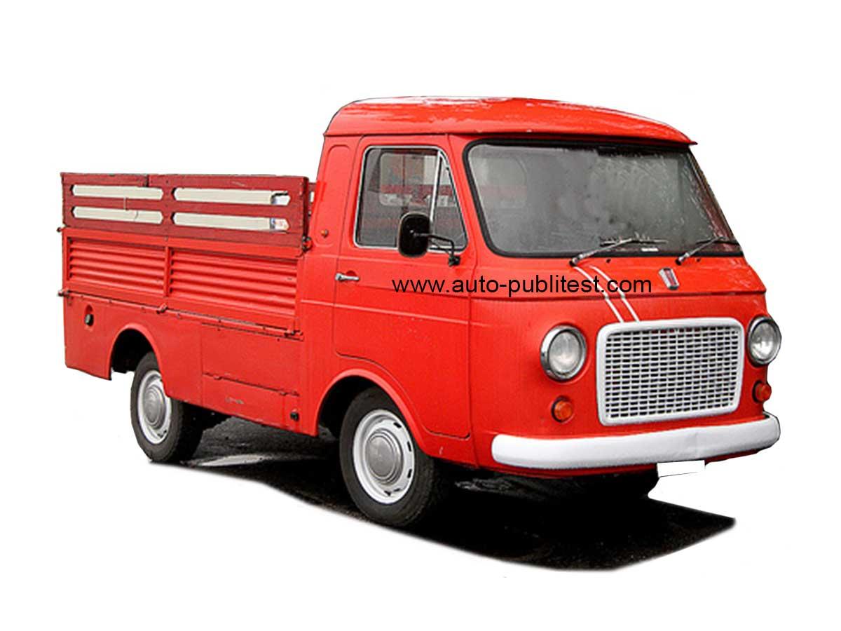 """Rimembranze """"i piccoli autocarri FIAT """" 241_1970"""