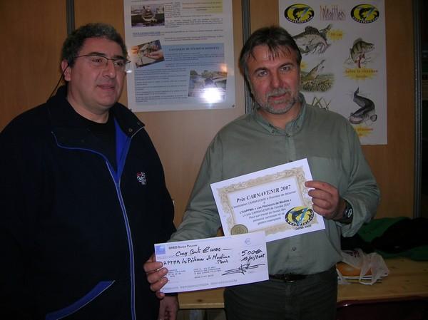 Prix Carnavenir pour l'AAPPMA de Madine Prix01_600