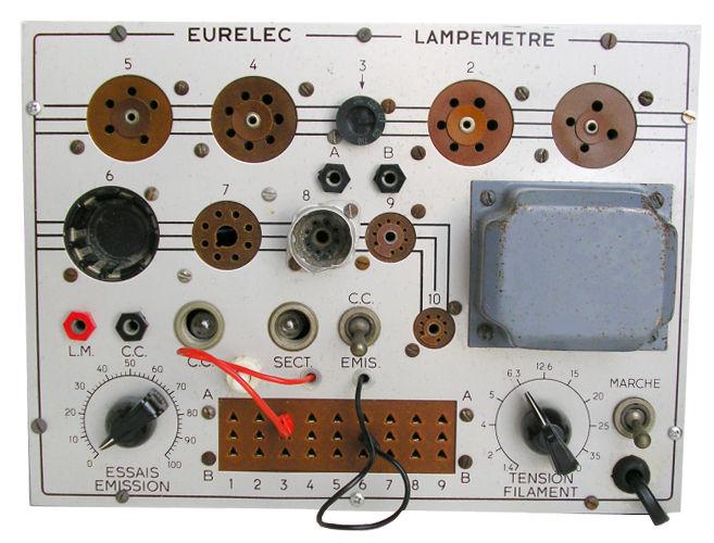 Testeur de tube Eurelec_XL