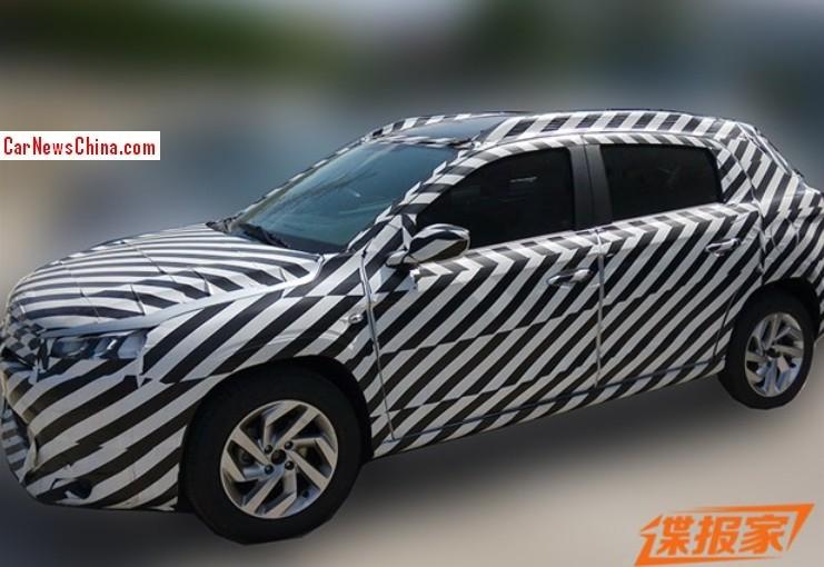 2014 - [Citroën] C3-XR (Chine) - Page 3 Citroen-c-xr-china-1