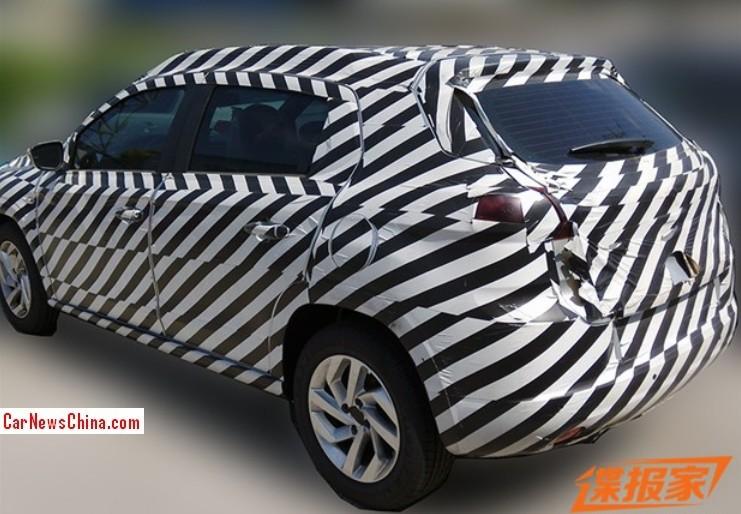 2014 - [Citroën] C3-XR (Chine) - Page 3 Citroen-c-xr-china-2