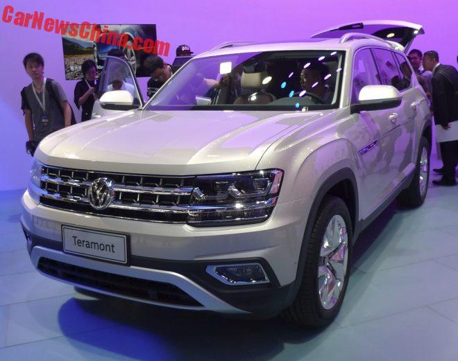 2016 - [CHINE] Guangzhou Auto Show Volkswagen-teramont-1-660x521