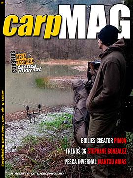 último número de la revista CarpMAG, Carpfishing Webcarp.com