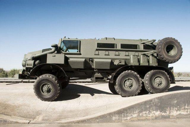لماذا انتشرت العربات المقاومة للألغام MRAP في الشرق الأوسط؟  Bae-casspir-mk6-rg-protector-based-on-ural-4320-1