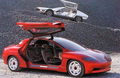 """[Concepts] Les """"vieux"""" concepts ! - Page 6 1994_Bertone_Porsche_Karisma_04"""